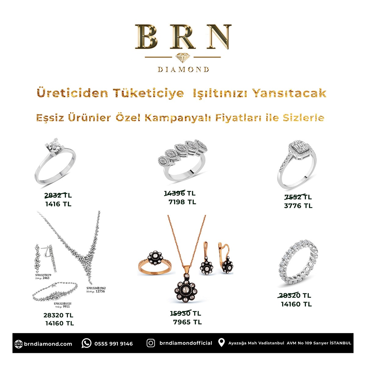 brn diamond broşür